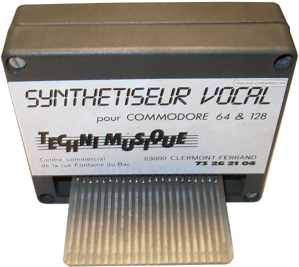 Techni Musique Synthétiseur Vocal « My Commodore 64