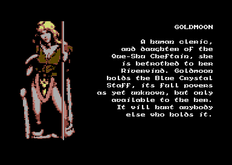 Commodore 64 - Heroes of the lance - screenshots -_0007_Calque 10
