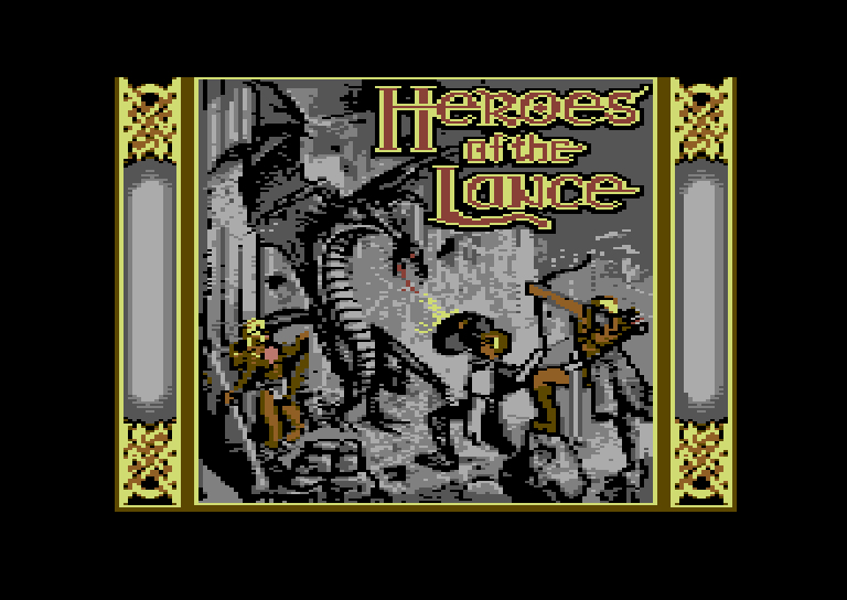 Commodore 64 - Heroes of the lance - screenshots -_0009_Calque 8