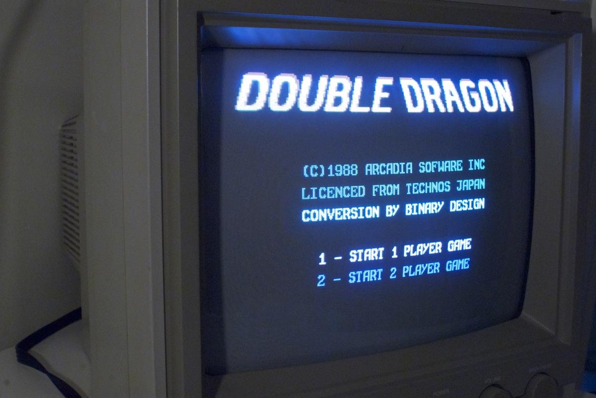 C64TPC Double Dragon running !