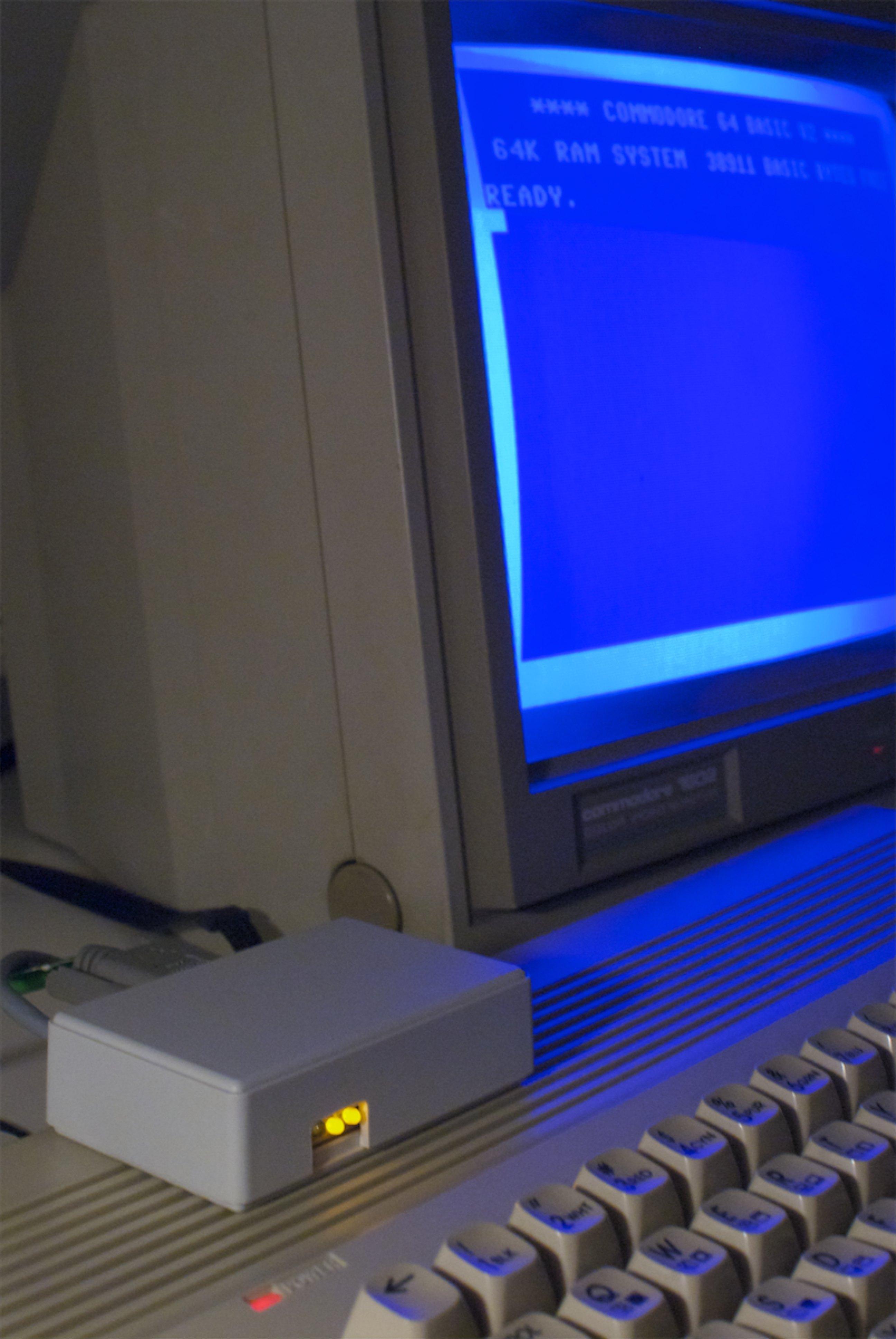 C64TPC on top of Commodore 64C