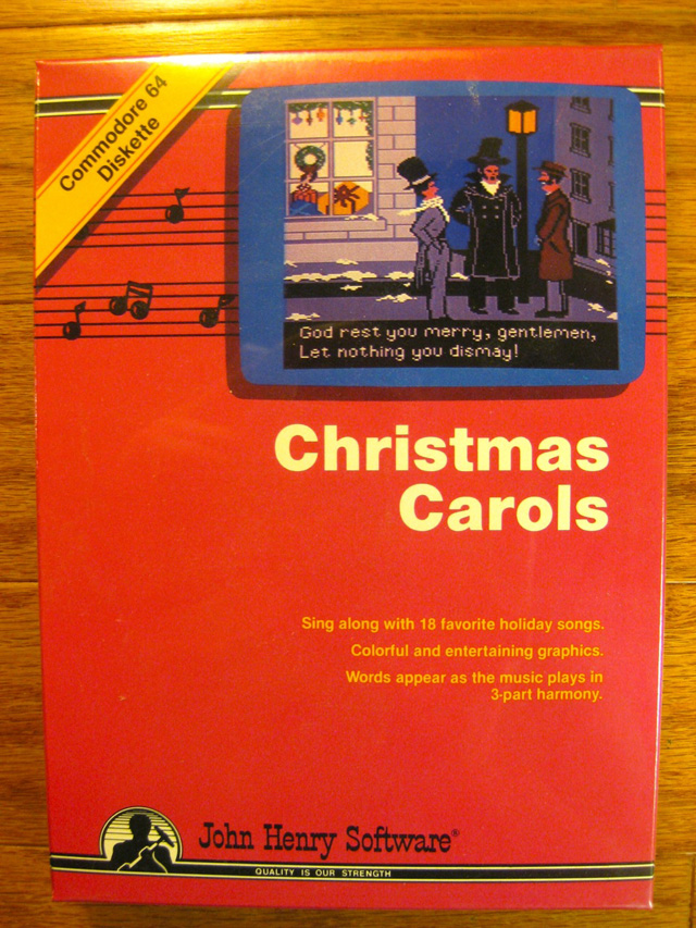 Xmas carols on your C64! « My Commodore 64